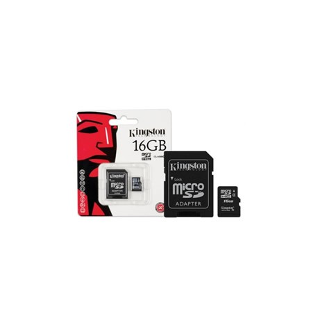 MICRO SD 16GB CON ADAPTADOR